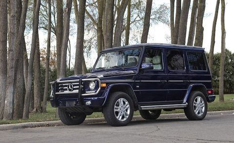 """Officially known as the G-class, aficionados of Mercedes's boxy, body on frame SUV commonly refer to it as the G-wagen. (It's short for """"Geländewagen"""".) In production for decades, it has repeatedly been pulled back from the brink of extinction by a wealthy customer base who just cant get enough of paramilitary styling that is as home on Rodeo Drive as it is on an actual military base. On the strength of a recent refresh, sales of the G increased by more than 18 percent in the first eleven months of 2014."""