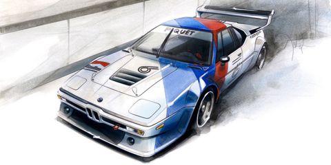 BMW M1 by Jochen Paisen