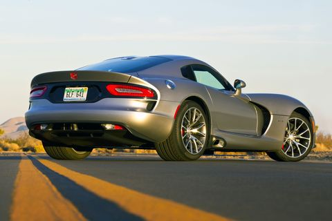 Dodge Viper GTC offers 8,000 colors, 24,000 stripes