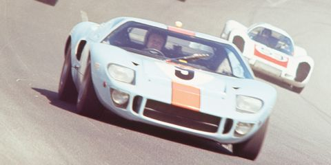 This veteran Ford GT40P went back to Le Mans and won