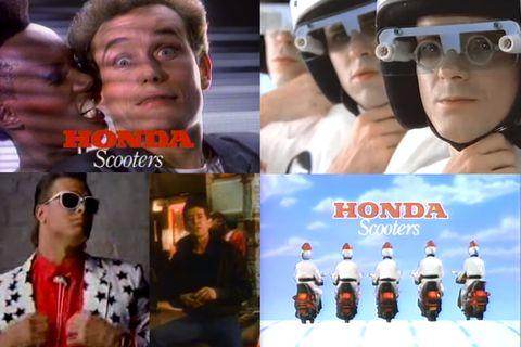 The Honda Elite scooter ads of 1985 were peak WTF