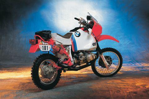 BMW Dakar 1985 winning bike