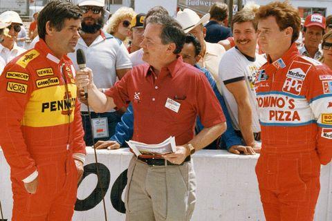 Al Unser and Al Unser Junior in the 1985 Indy Car season