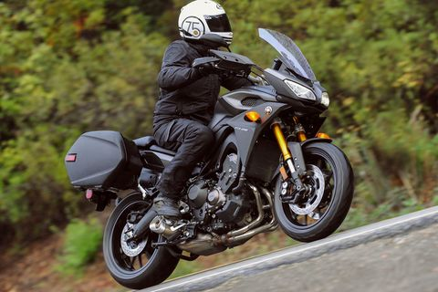 2015 Yamaha FJ-09 First Ride