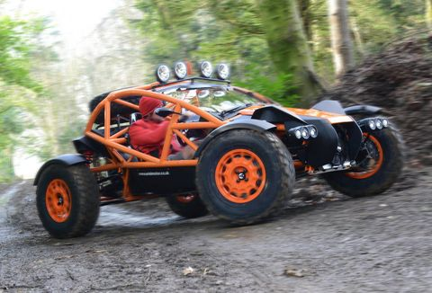 The Ariel Nomad is the Atom's dirty cousin