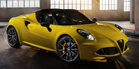 """<p>Alfa Romeo still has  a long way to go before you can consider its return to the U.S. a success, but <a href=""""http://www.roadandtrack.com/new-cars/road-tests/reviews/a27034/alfa-romeo-4c-spider-review/"""" target=""""_blank"""">sending us the 4C was a pretty good start</a>. It has the looks of a much more expensive exotic, and even though it only has a 1.7-liter four-cylinder, you'd never guess it based on how it sounds.</p>"""