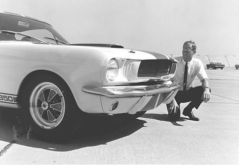 Chuck Cantwell and the Ford Mustang Shelby GT350R