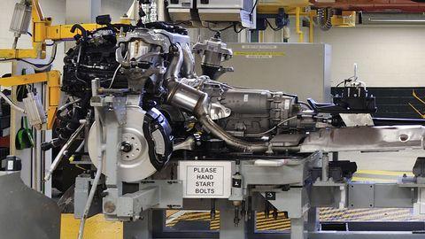 Bentley Continental Engine