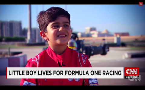 6-year-old from the UAE is a pint-sized kart prodigy