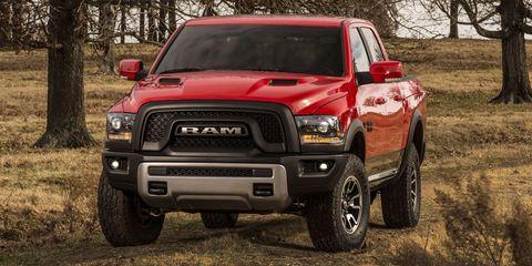 RAM Rebel 1500 has GIANT LETTERS, tread-pattern seats