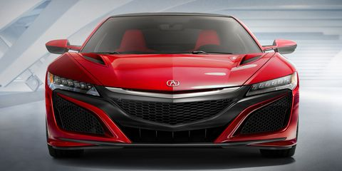 We think the Acura NSX will get a V8