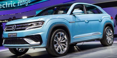 Volkswagen Cross Coupe Gte Concept Live Gallery