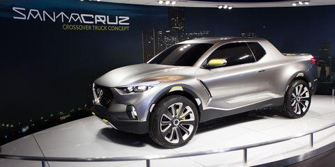 Hyundai Santa Cruz Concept - Live Photos