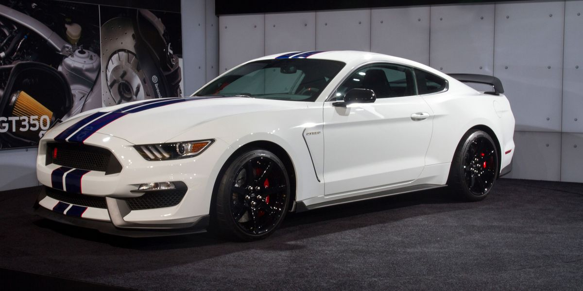Barrett Jackson Will Auction The Very First Mustang Gt350