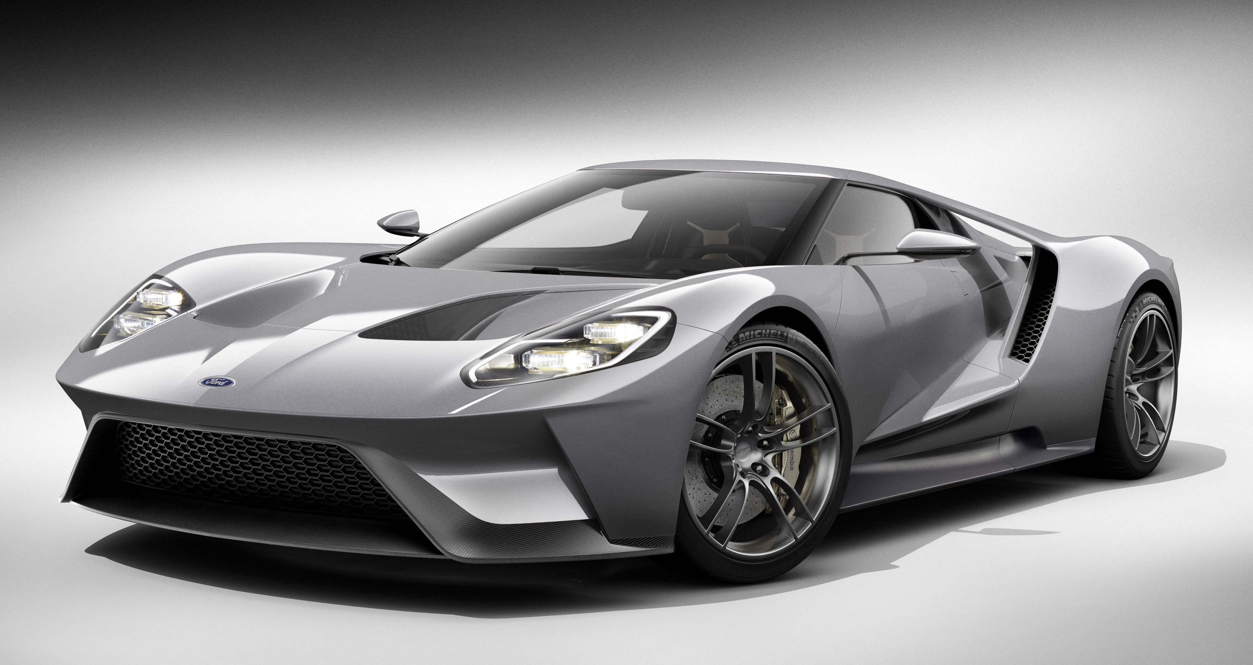 If you don't love the new Ford GT, you're probably dead