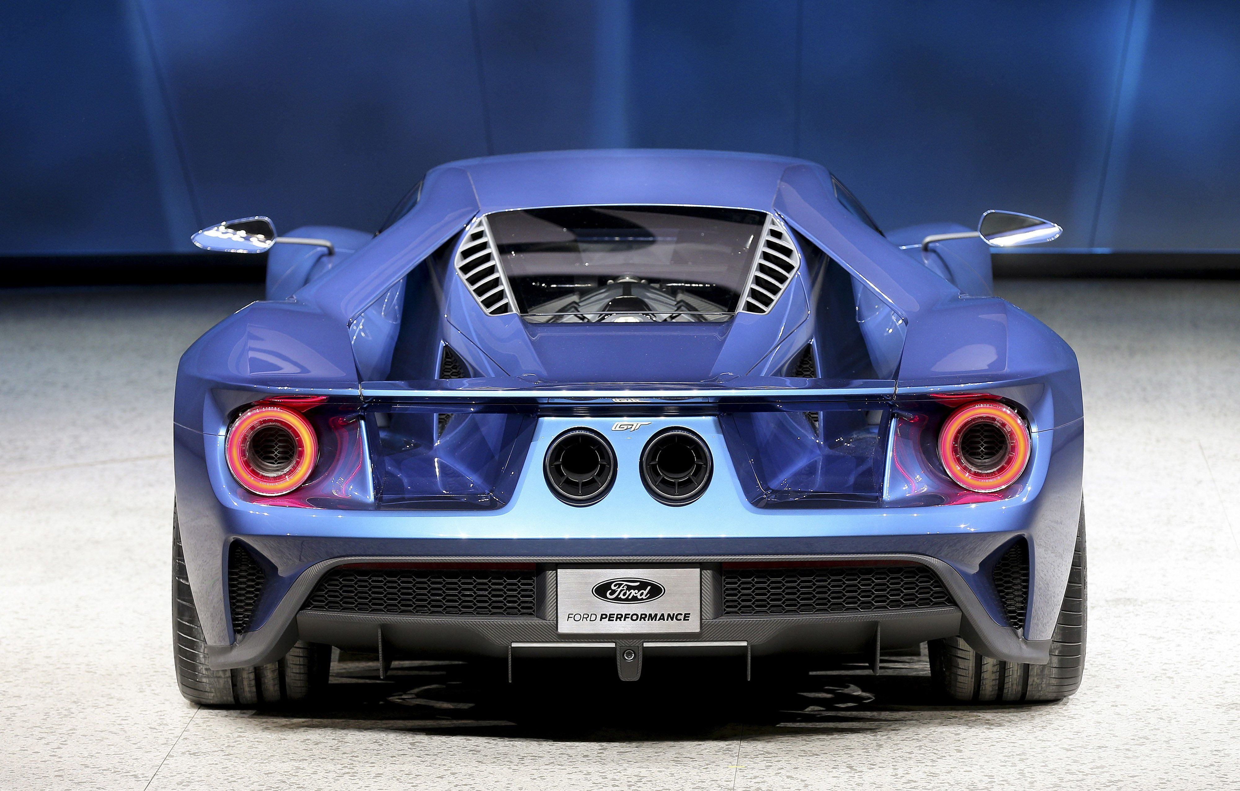 Stop everything and listen to the new Ford GT