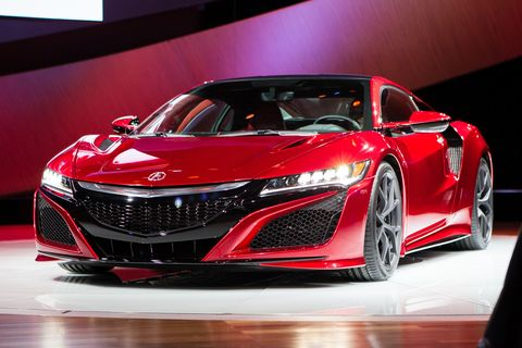 Acura Will Take the New NSX Racing