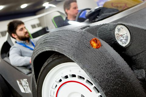 This is what it's like to ride in a 3D-printed car