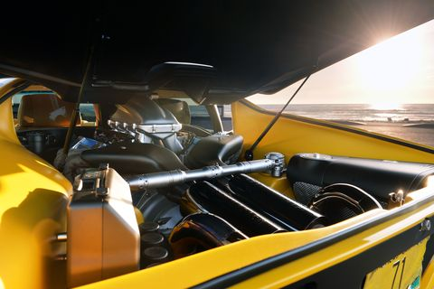 Motor vehicle, Mode of transport, Automotive design, Yellow, Steering wheel, Automotive exterior, Glass, Windshield, Classic car, Classic,