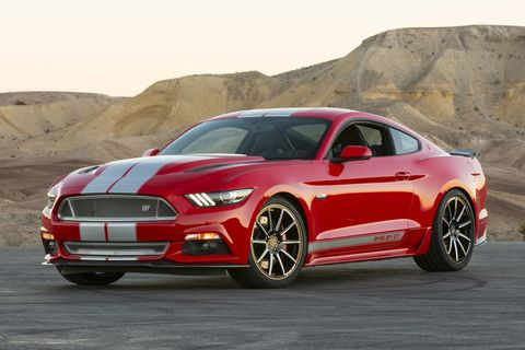 627-hp Shelby GT fills in for the departed GT500