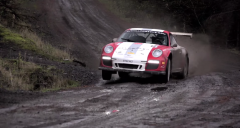 Chris Harris A Porsche 911 Rally Car And Lots Of Mud