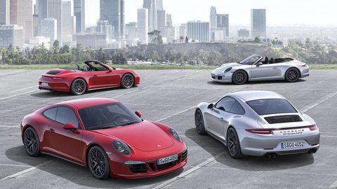 Porsche 911 Carrera GTS lineup