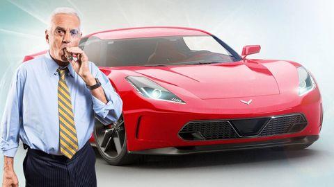 bob lutz and the c8 corvette