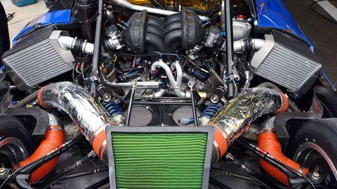 Ford Racing EcoBoost V6 in Chip Ganassi DP Car