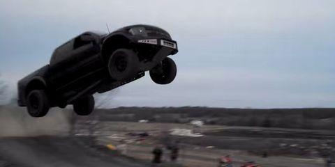 Ford SVT Raptor jump