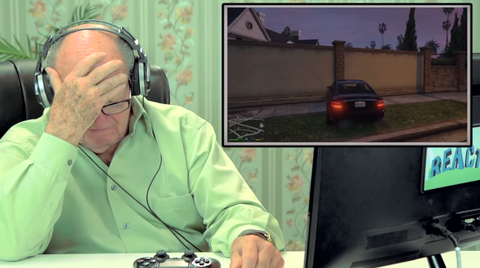 Seniors playing Grand Theft Auto is the best thing ever