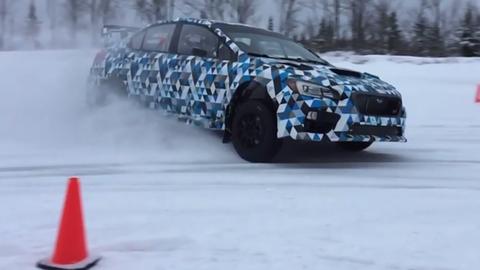 2015 Subaru STI Rally America car
