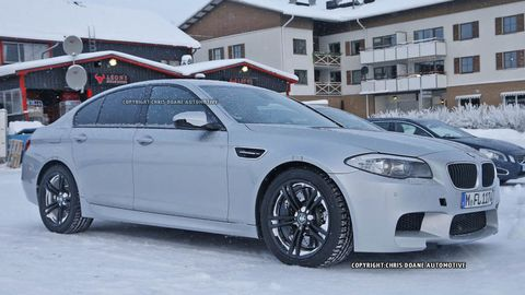 The Next BMW M5 Will Be All-Wheel Drive, Until You Push the Rear-Drive Button