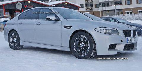 BMW M5 AWD Mule
