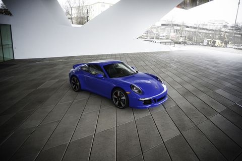 this is the 2015 porsche 911 gts club coupe