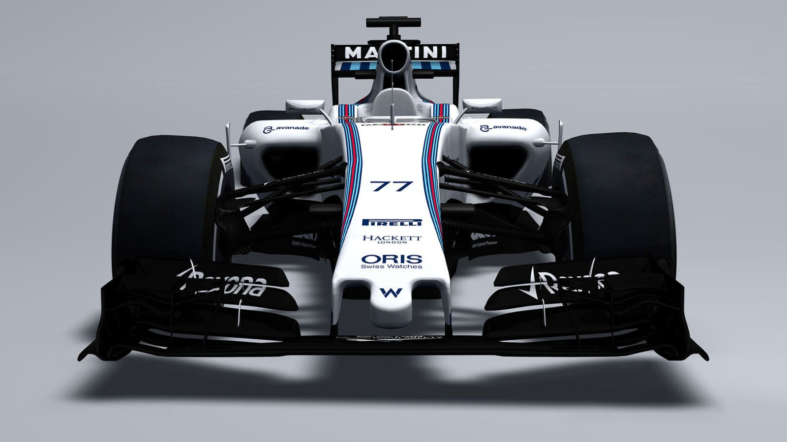 Here's the 2015 Williams Martini Racing Mercedes FW37