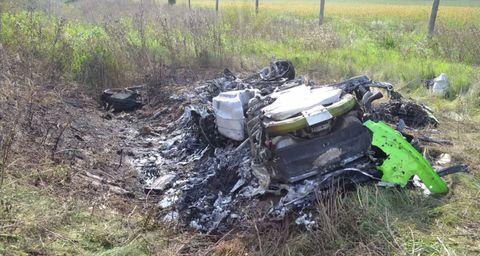 Passenger videos Lamborghini Huracan's violent 208 mph