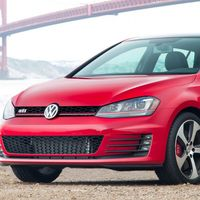 """<p>On paper, the Volkswagen Golf R looks like it would be much better than the GTI. It's more powerful, more aggressively-tuned, and it's all-wheel drive. Then again, <a href=""""http://www.roadandtrack.com/new-cars/road-tests/reviews/a5477/the-next-volkswagen-gti-will-be-well-worth-the-wait/"""" target=""""_blank"""">the GTI is is enough fun</a>, you might not think you need to spend the extra money to get the R.</p>"""