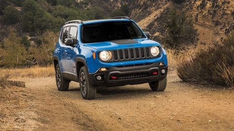 2015 Jeep® Renegade Trailhawk