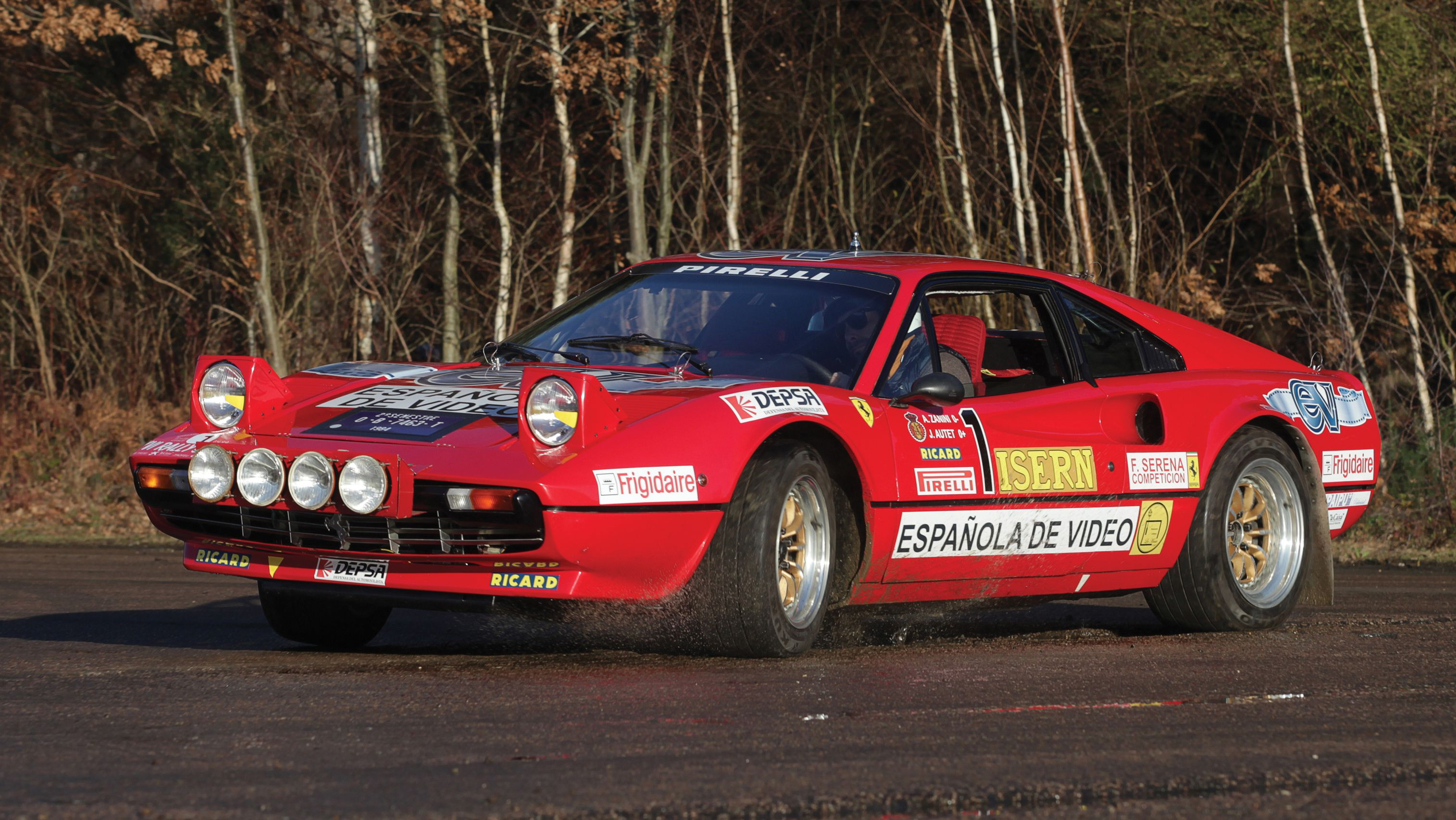 Buy this Group B-spec 1978 Ferrari 308 rally car