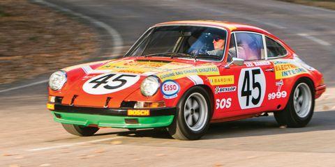 Ex-works 1969 Porsche 911 S