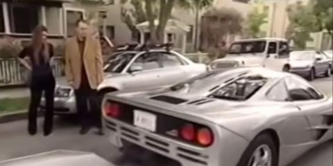 Watch A Young Elon Musk Take Delivery Of His Mclaren F1 In