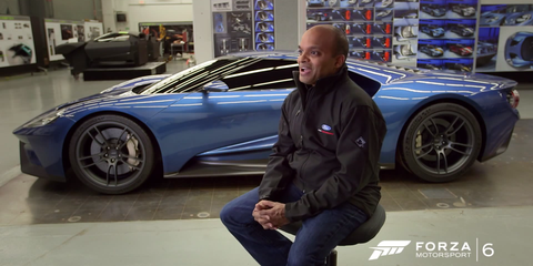 Take a closer look at how Ford designed the new GT