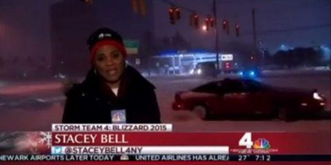 NY Blizzard Drift