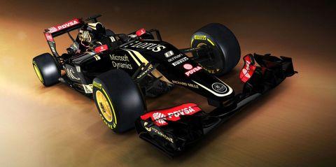 2015 Lotus F1 E23 Hybrid F1 car