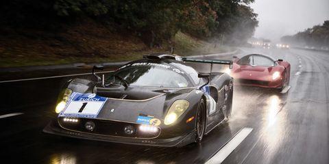 SCG P4/5 C and Ferrari P4/5 by Pininfarina