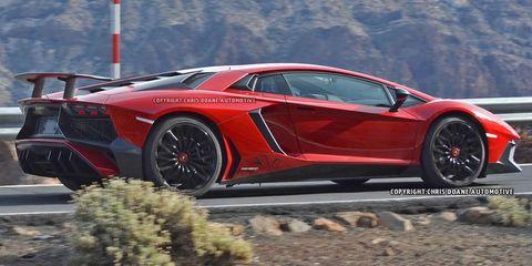 2016 Lamborghini Aventador Super Veloce