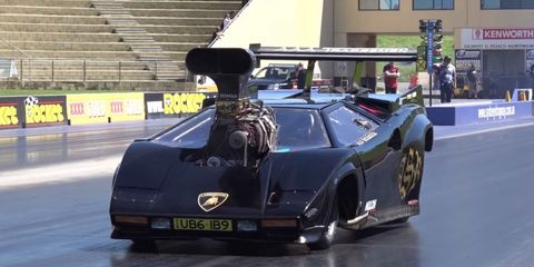 Lamborghini Countach Drag Racer