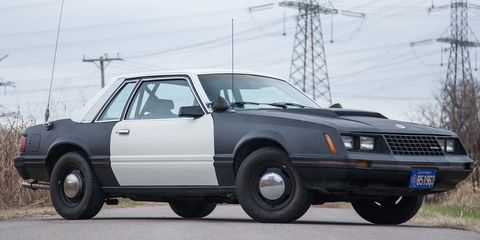 1982 Ford Mustang SSP Prototype - Photos