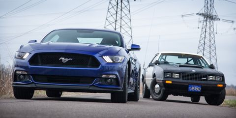 Ford Ssp And  Mustang Four Cylinder