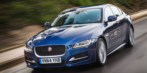 Here's what the U.S. 2017 Jaguar XE will have underhood